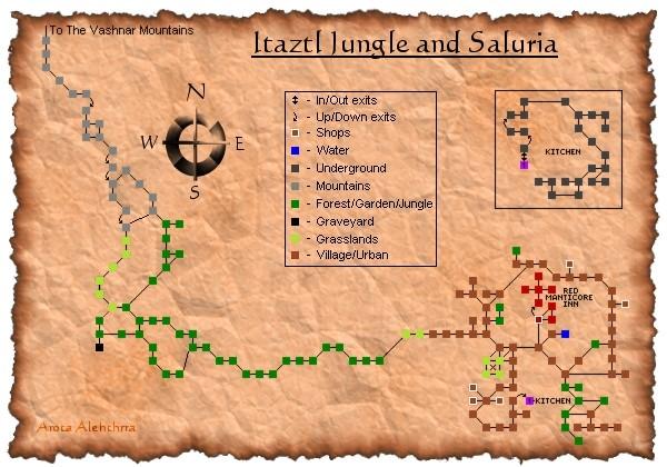 Itaztl Jungle and Saluria
