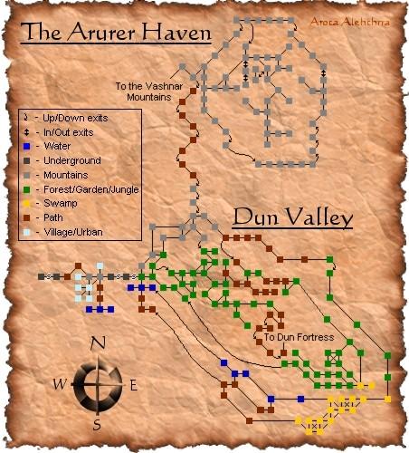 Arurer Haven and Dun Valley