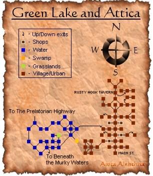 Green Lake and Attica