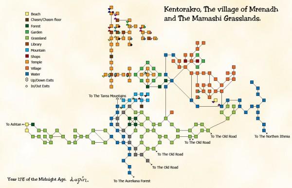Kentorakro, The village of Mrenadh and The Mamashi Grasslands.